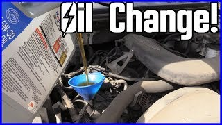 How to Change Oil and Filter Ford F-150 5.4L