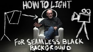 How to Light an Interview with Seamless Black Background – Filmmaking Tutorial
