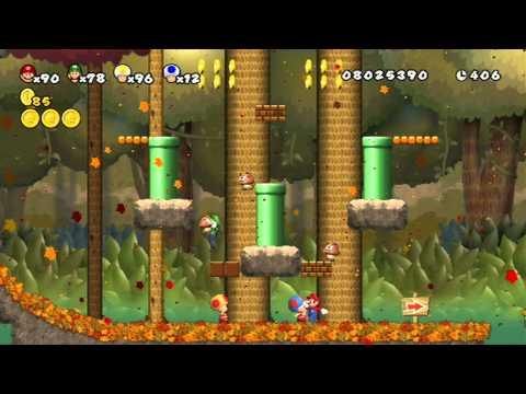 Newer Super Mario Bros Wii Walkthrough World 8 1 4 By