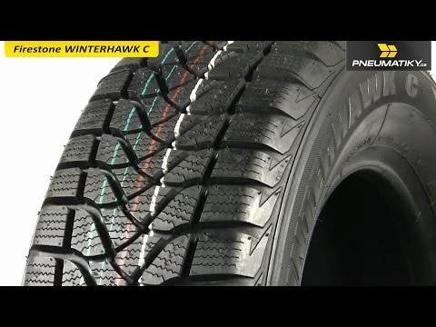 Youtube Firestone WINTERHAWK C 195/60 R16 C 99 T Zimní