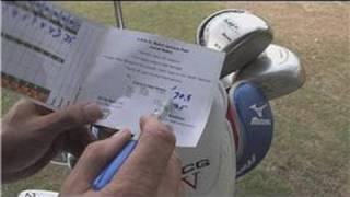 Golfing Tips : How to Calculate a Handicap in Golf