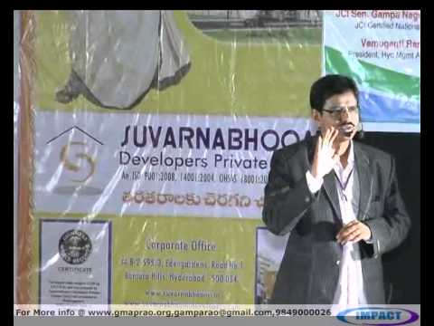 Program Your Life| Vishesh |TELUGU IMPACT Hyd 2012