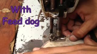 preview picture of video 'Embroidery sewing machine, Peeco and Rafo/Darning, Zig Zag needle bar'