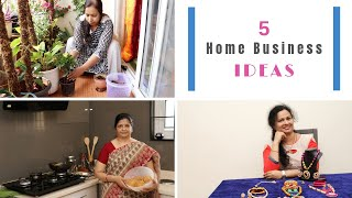 5 Home Business Ideas For Women (In Hindi) - 5 घर से बिजनेस करने के आइडियास - Download this Video in MP3, M4A, WEBM, MP4, 3GP
