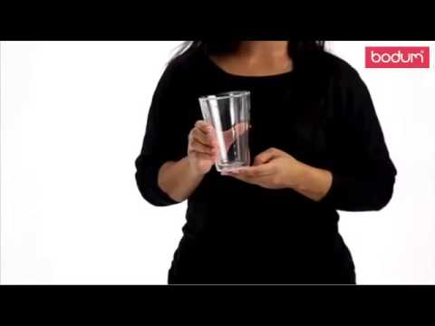 Bodum - Youtube video about the Canteen Drinking Glasses