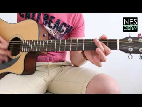 Ed Sheeran - Photograph - Guitar Tutorial w/ Melody and Tabs - How to play Lesson by Nes Music
