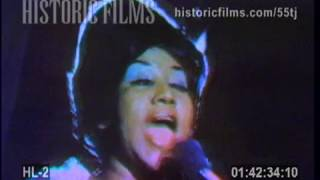 Aretha Franklin Rare 60s/70s (Sweet Sweet Baby) Since You've Been Gone Live Performance