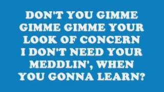 Suicidal Tendencies-Don't Give Your Nothin' (lyrics)