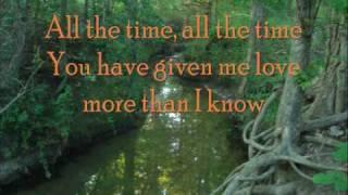 Jeremy Camp- All the Time (Lyrics)