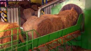 Технологическая линия для брикетирования соломы - производства биомассы