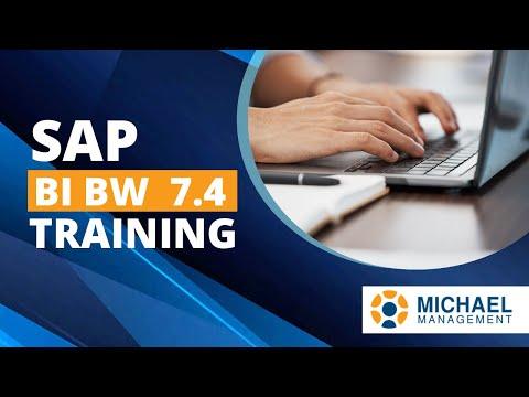 SAP BI BW 7.4 Training - YouTube
