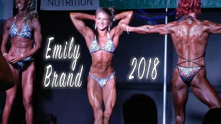 Athletic Figure Bikini at Rob Reinaldo Classic 2018 featuring Emily Brand