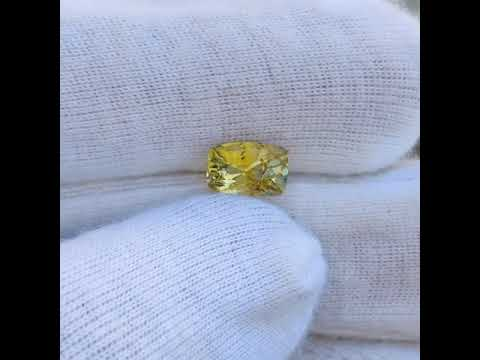 Natural Yellow Sapphire - 3.19 Carat
