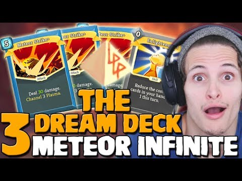 Slay The Spire - 3 Meteor Strike + Runic Pyramid Infinite! | Defect Ascension 15