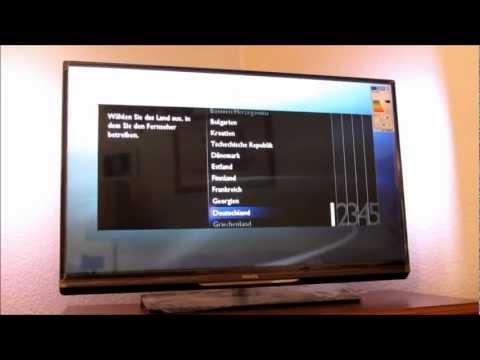 PHILIPS 37PFL6007K 3D LED TV [UNBOXING] DEUTSCH HD