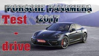 Porsche Panamera 2 4S 2017. Test-drive. Казань.