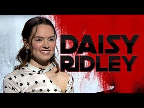 Entrevista: Daisy Ridley – Star Wars The Last Jedi