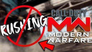 Rushing is NOT IMPOSSIBLE in Modern Warfare!!