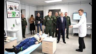 В.Путин посетил Военный инновационный технополис «Эра» 2018