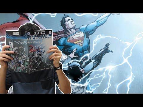 Renascimento DC | Os primeiros mixes da Panini