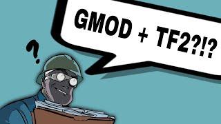 Garry's Mod (team fortress 2 bots mod) BEST GUN EVER IT MAKES FIREWORKS!