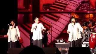 "The Chiffons performing ""I Have a Boyfriend"" at Peabody Auditorium, Daytona Beach, FL - 3/27/15"