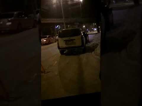 Разборки и драка после ДТП в Хабаровске(осторожно мат)