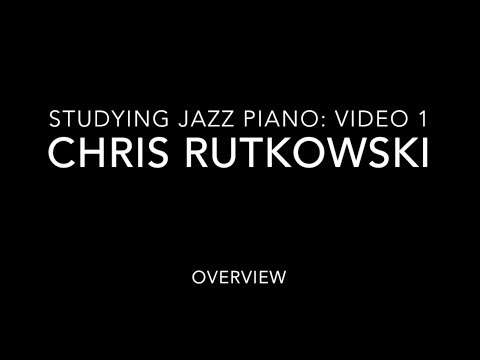 This is the first of 5 videos in my series, Studying Jazz Piano