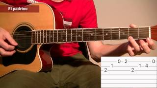 How To Play The Godfather Theme Song: Acoustic Guitar Tab Lesson TCDG