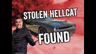 Richard Rawlings Stolen Hellcat RECOVERED!
