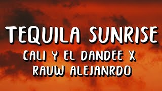 Cali Y El Dandee Rauw Alejandro Tequila Sunrise Letra