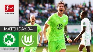 Greuther Fürth 0-2 VfL Wolfsburg Pekan 4
