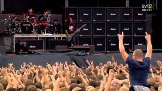 The Big 4 - Slayer - Angel Of Death Live Sweden July 3 2011 High Quality Mp3