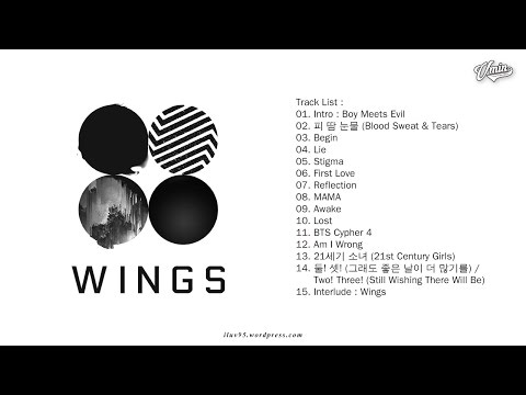 [FULL ALBUM] BTS - WINGS [VOL. 2]
