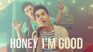 Honey I'm Good - Andy Grammer - ONE TAKE!! Sam Tsui & KHS Cover