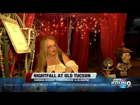 Nightfall at Old Tucson seeking spooky staff for 2019 season