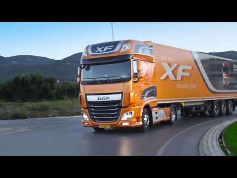 The new DAF XF trucks
