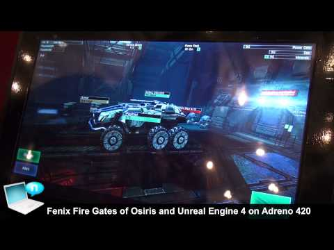 Qualcomm Snapdragon 805 Adreno 420 GPU demo 3D gaming (Unity
