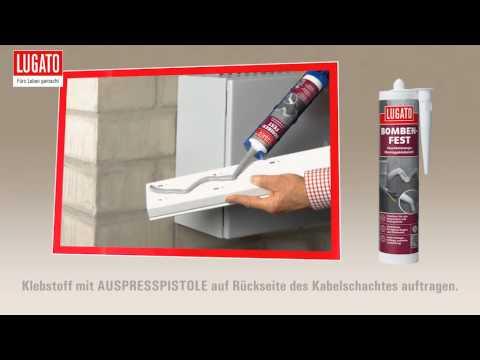 Anleitung: Montagekleber und Dichtstoff: Lugato Bombenfest im Anwendungsvideo