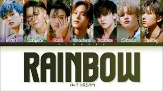 NCT DREAM 'Rainbow (책갈피) Lyrics (가사) (Color Coded Lyrics Eng/Rom/Han)