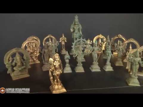 SOLD Bronze Murugan Set With Consorts 7