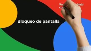 IMTLazarus - Centros Digitales: Bloqueo de pantalla - sesión de trabajo.