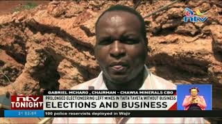 Extended electioneering to be blamed for reduced interest in mining in Taita Taveta