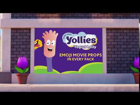 Kerry Dairy Emoji Movie Ad TV & Film