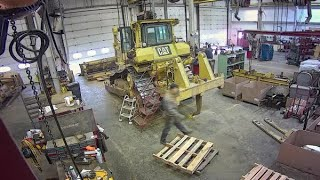 980H Wheel Loader Certified Rebuild Video
