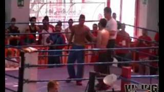 preview picture of video 'European Championchips Kickboxing ISKA ROME Monterotondo ITALY 2009 Andrzej Szymański'