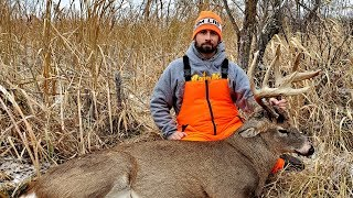 Big 12 pt Swamp Buck Down!! Deer Hunting Minnesota Rifle Season