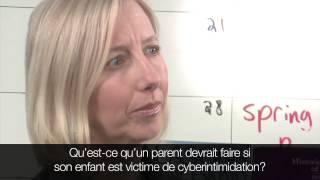 Parlons de la cyberintimidation
