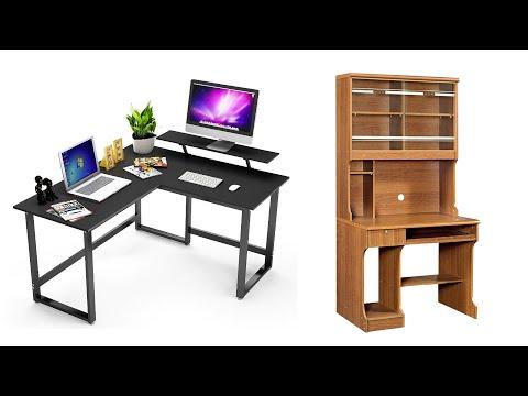 50+ Corner Desk Ideas to Build for Your Office | L shaped Corner Desk