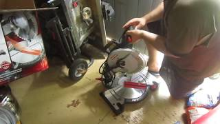 "Craftsman 10"" Compound Miter Saw (21236) unboxing."